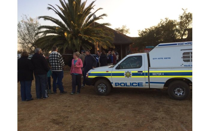#Elections2016 get underway, people start to queue to make their mark. Picture: EWN.