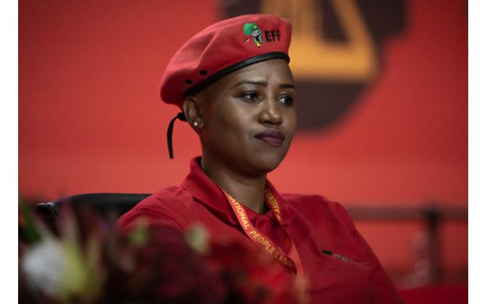 Poppy Moilola is the new EFF deputy secretary general. Picture: Sethembiso Zulu/EWN