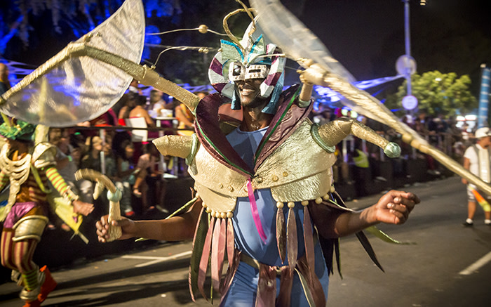 This creature of the deep made an appearance at the Cape Town Carnival 2015. Picture: Thomas Holder/EWN