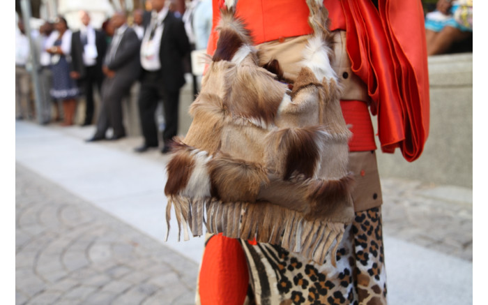 Animal skins and furs are a regular feature on the red carpet.