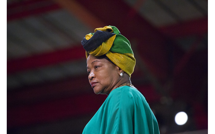 Baleka Mbete during the nominations process at the ANC's national conference on 17 December 2017. Picture: Sethembiso Zulu/EWN