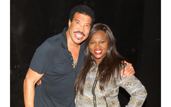 Lionel richie meet and greet philicity lebo from the breakfast xpress team with lionel richie m4hsunfo