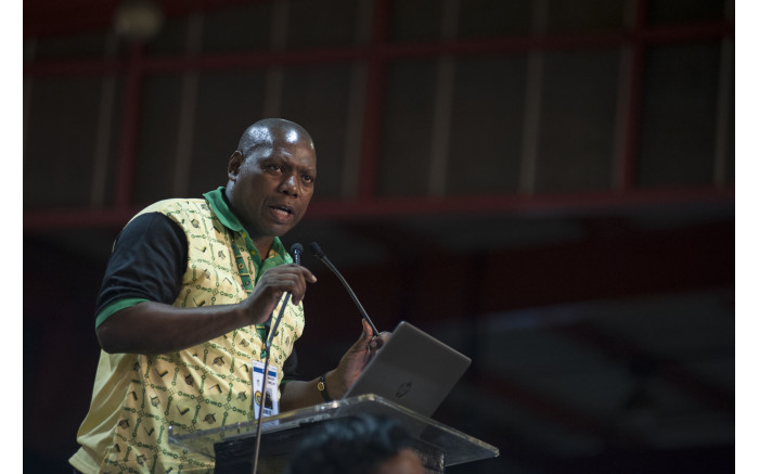Zweli Mkhize declines the nomination for deputy president at the ANC's national conference on 17 December 2017. Picture: Ihsaan Haffejee/EWN