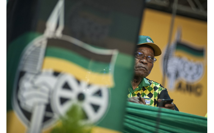 President Zuma looks on as delegates raise concerns during the nominations process. Picture: Ihsaan Haffejee/EWN