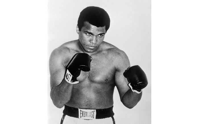 Former world heavyweight champion Muhammad Ali.
