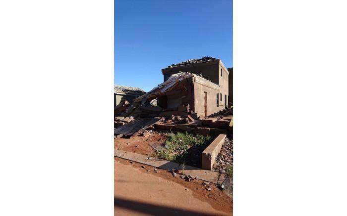 A heavy storm hit parts of Gauteng on Saturday 30 December 2017, damaging several homes.  Picture: Leeto Khoza/EWN.