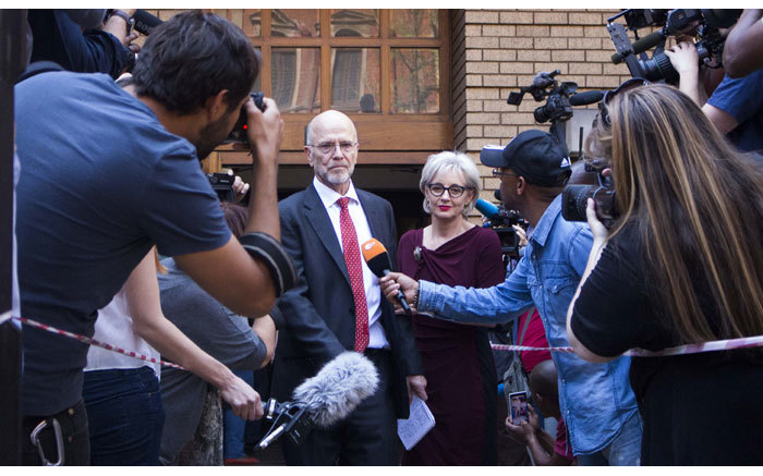 Arnold Pistorius leaves the High Court in Pretoria after the reading of judgment in the Oscar Pistorius murder trial on 12 September 2014. Picture: Christa Eybers/EWN.