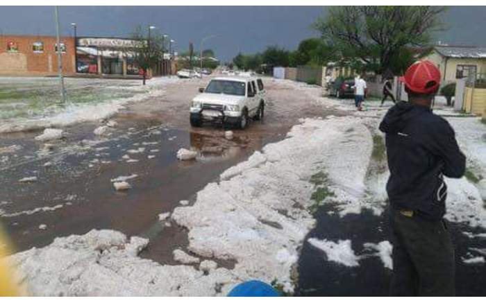 Motorists were urged to practice caution on the roads after the storm.  @CityofJoburgZA