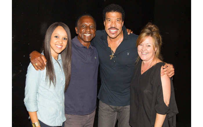 Lionel richie meet and greet darren simpson and his wife meeting lionel richie m4hsunfo