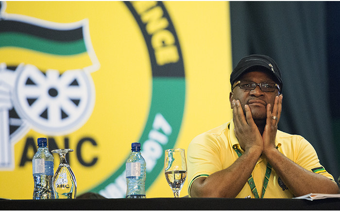 Nathi Mthethwa during the nominations process at the ANC's national conference on 17 December 2017. Picture: Sethembiso Zulu/EWN