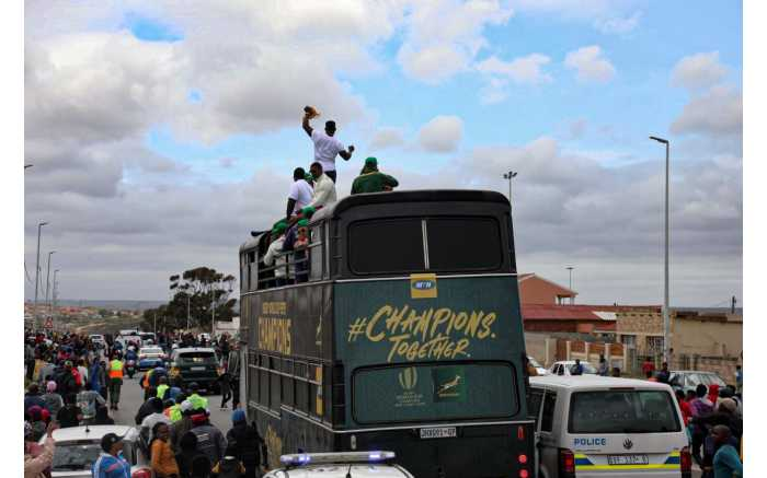 The Springboks wrapped up their Eastern Cape Rugby World Cup tour in the windy city of Port Elizabeth.
