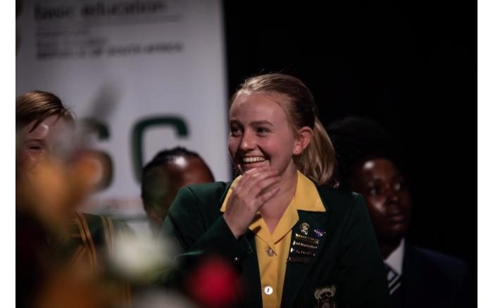 Overall top achiever Madeleine Dippenaar plans to to study molecular biology and biotechnology.