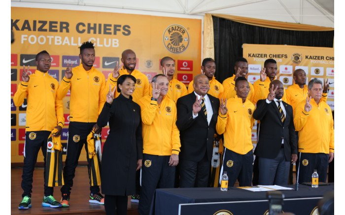The new additions to the Kaizer Chiefs team.