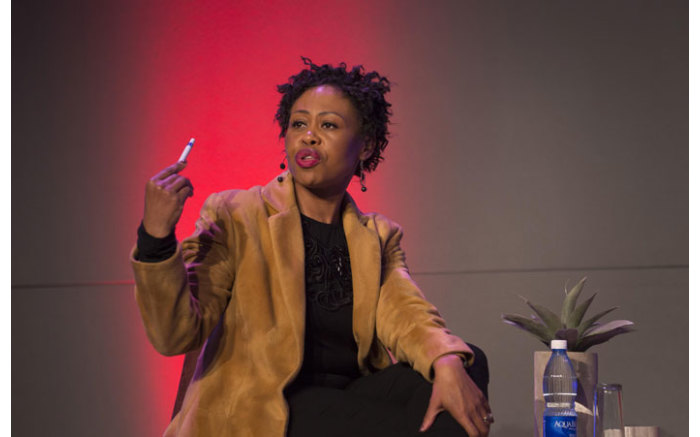 Redi Thlabi at The Gathering: Media Edition at the Cape Town International Convention Centre on 3 August 2017. Picture: Bertram Malgas/EWN