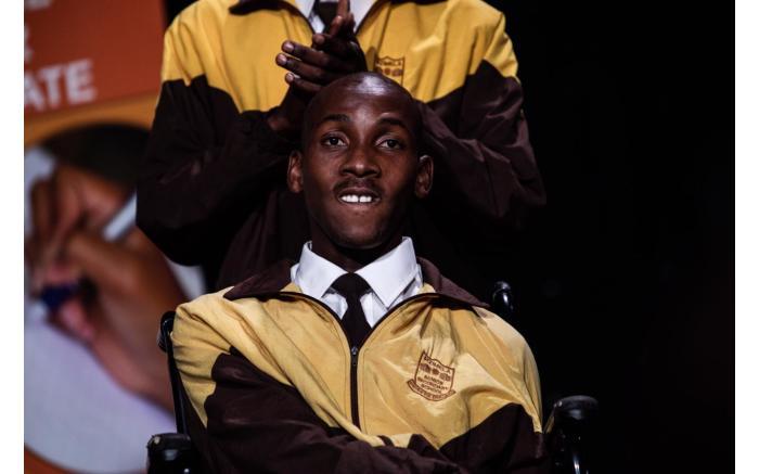 An award for special needs went to Mandlenkosi Praise-God Mbatha from KwaZulu-Natal.