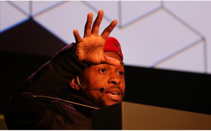 EFF National Spokesperson Mbuyiseni Ndlozi.