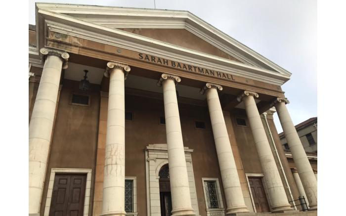 The Sarah Baartman Hall at the University of Cape Town's upper campus. Picture: Lizell Persens/Eyewitness News