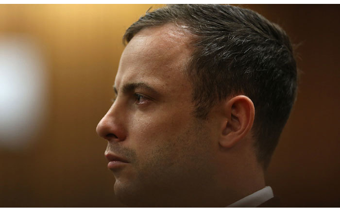 Oscar Pistorius is seen at the High Court in Pretoria on 12 September 2014 where he was found guilty of culpable homicide. Picture: Pool.