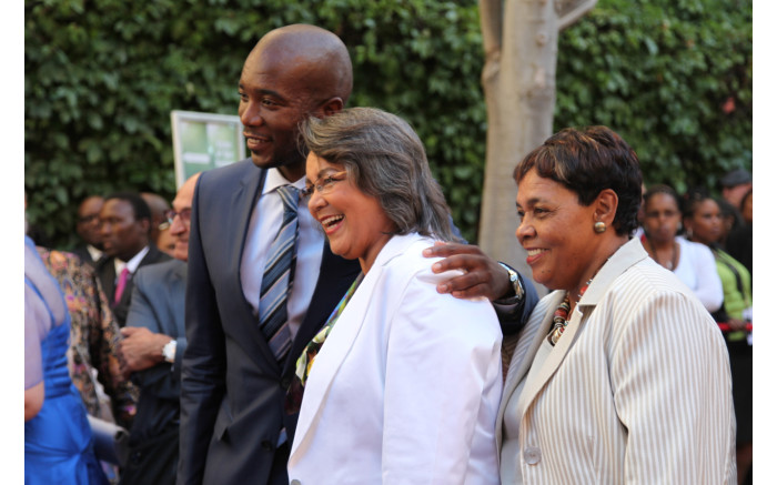Cape Town Mayor Patricia de Lille opted for white in 2014.