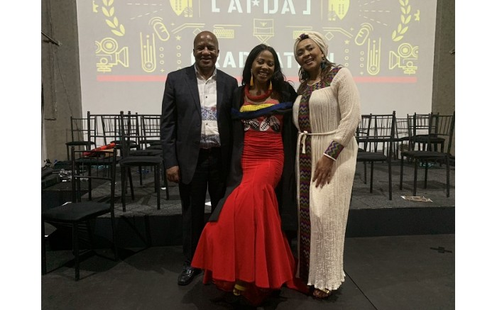 Jackson Mthembu and his wife Thembi at their daughter Thuli's graduation. Picture: Jackson Mthembu