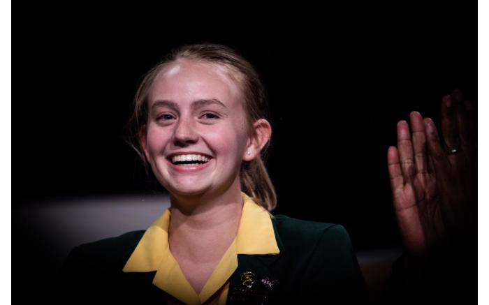 The overall top achiever was Madeleine Dippenaar from the Northern Cape.