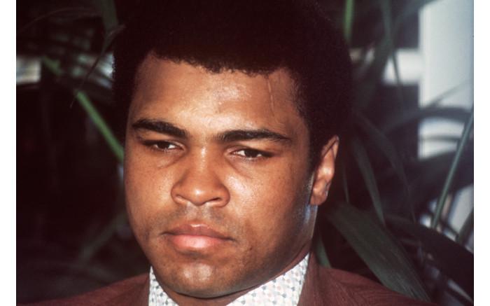 US boxer Muhammad Ali.