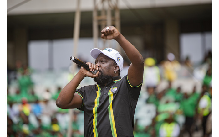 Musician Zola7 performing at the Moses Mabhida Stadium. Picture: Sethembiso Zulu/EWN