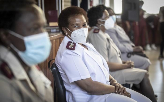 Nurses at Chris Baragwanath Hospital vaccination centre. Picture: Abigail Javier/EWN
