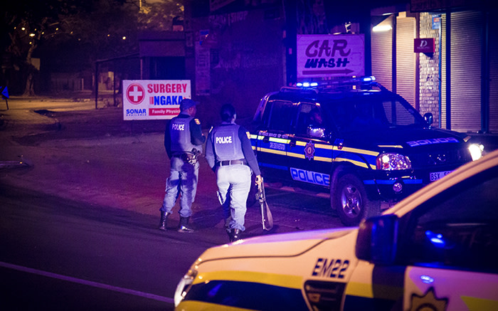 The capital city saw a night of violence after the ANC announced Thoko Didiza as its mayoral candidate. Picture: Thomas Holder