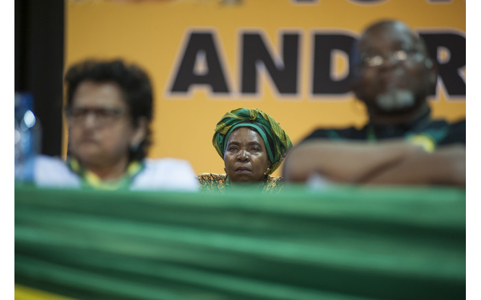 Nkosazana Dlamini Zuma during the nominations process at the ANC's national conference on 17 December 2017. Picture: Ihsaan Haffejee/EWN.