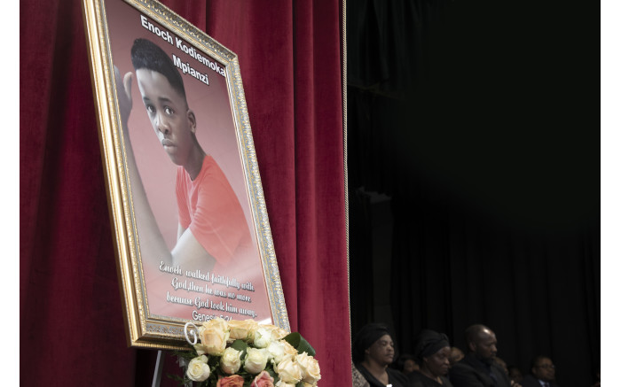 Enock Mpianzi, the 13-year-old Parktown Boys' High pupil who drowned during a school camp. Xanderleigh Dookey/EWN