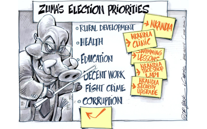 GALLERY] The presidency of Jacob Zuma in cartoons