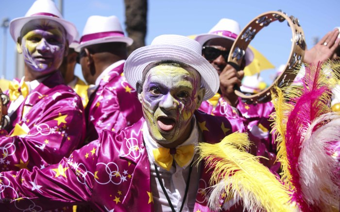 A member of the All Stars Entertainers troupe. Picture: Cindy Archillies