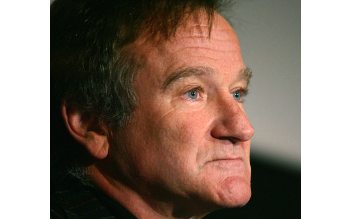 A file picture taken on November 15, 2005 shows US actor Robin Williams posing during a photocall of