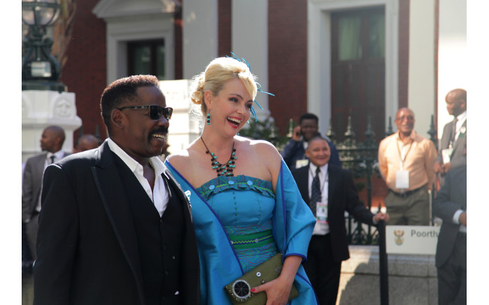 Dali and Rachel Tambo on the red carpet.