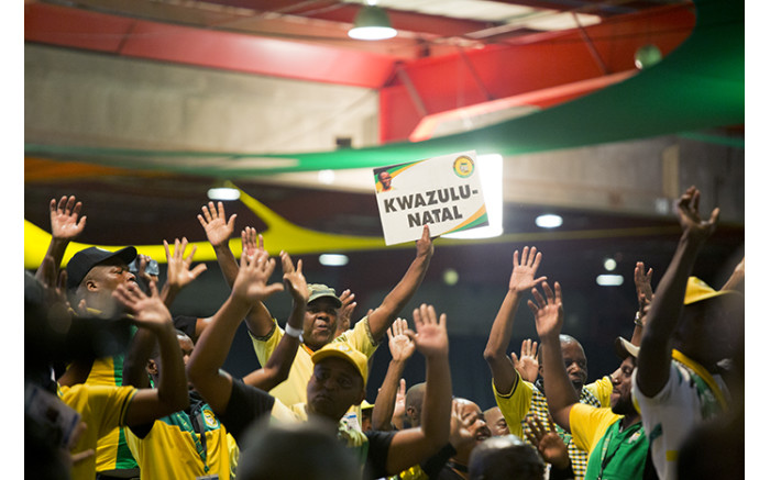 Delegates from KwaZulu-Natal during the nominations process at the ANC's national conference. Picture: Sethembiso Zulu/EWN