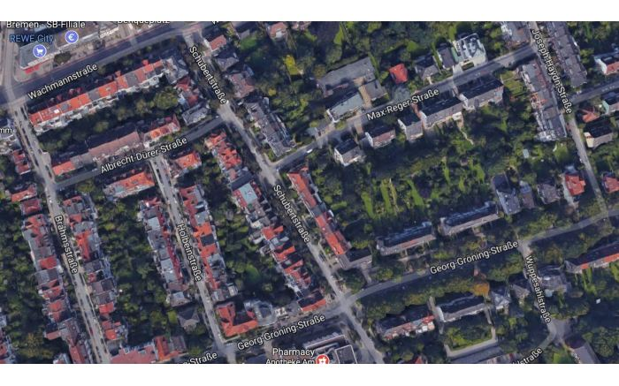 Bremen, Germany. Lots of lawns to be found here too.