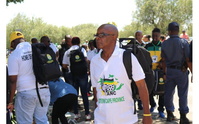 ANC delegates arrive in colourful regalia at Nasrec. Picture: MYANC