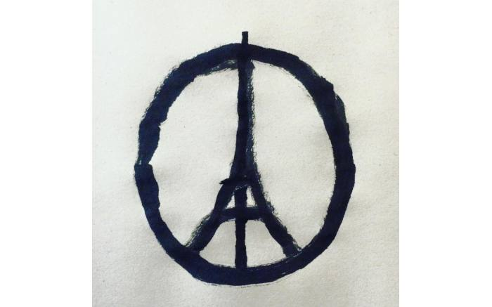Peace for Paris.  Cartoon by Jean Julien