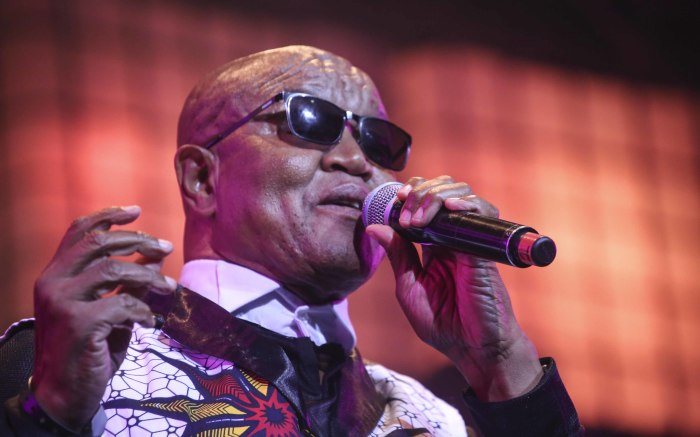 Legendary South African singer songwriter, Steve Kekana opens the festival. Picture: Cindy Archillies/EWN