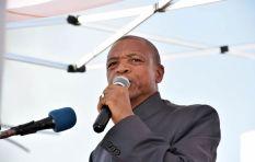 [LISTEN] Come again? Supra Mahumapelo's budget speech 'riddle' baffles everyone