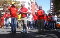Cosatu marches over rights of vulnerable workers