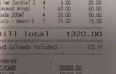 Gauteng waitress gets R18,000 tip for 'amazing service'