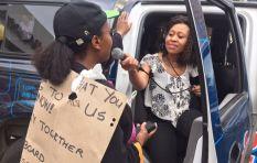 #ZumaMustFall protesters make their voices heard