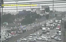 #TaxiProtest R24/R21 - View from the traffic desk