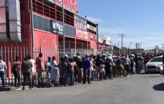Sassa grant recipients endure long queues to receive their payouts