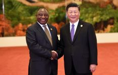 China is not trying to re-colonise Africa insists Ramaphosa