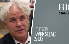 #FridayStandIn: Psychoanalyst Mark Solms says he is fascinated by the brain