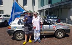 [LISTEN] Scotsman drives 80-year-old Julia Albu's car back to Cape Town