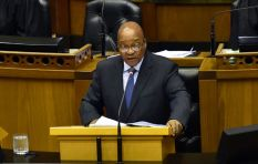 President Zuma had fun taking a swipe at absent opposition parties